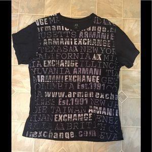 Men's Armani Exchange A/X t shirt